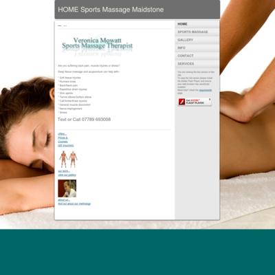 Veronica Mowatt sports massage therapist